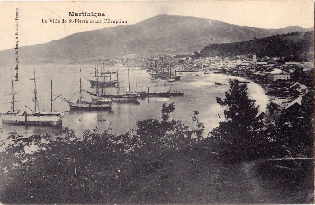 Saint-Pierre en 1900