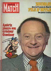 Paris Match n° 1486 du 18 novembre 1977.