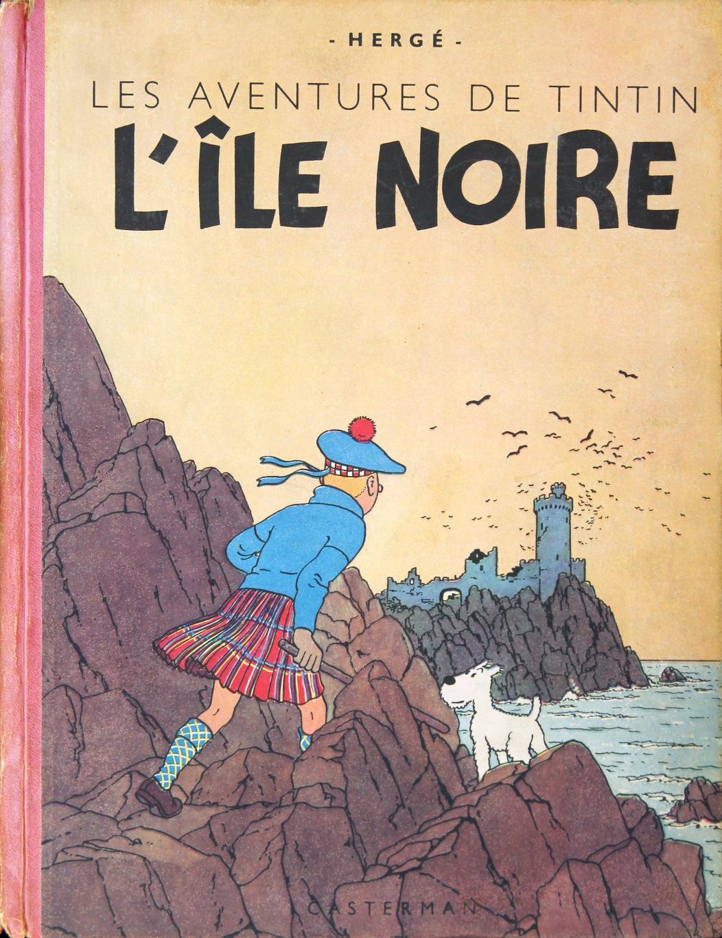 « Exemplaire Hergé ».
