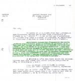 Le 24 septembre 1943, Lesne indique à Hergé que pour « L'Étoile mystérieuse », il faut refaire les plaques d'impression.