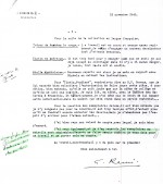 Le 16 novembre 1943, à propos des exemplaires en noir, Hergé s'exclame : « Ils sont admirables ! »
