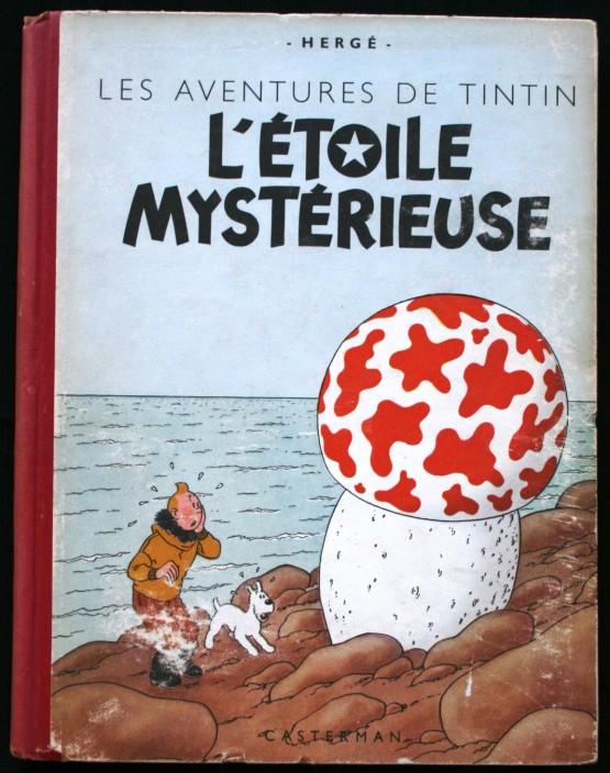 34d10b1c0c8 Tintin »   le mystère des éditions alternées… Livre 2   une « Étoile » bien  mystérieuse…