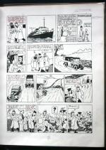 « Page 7 annotée — exemplaire Hergé ».