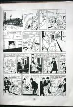 Pages 3 annotée — exemplaire Hergé.