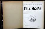 «  Page de titre — exemplaire Hergé ».