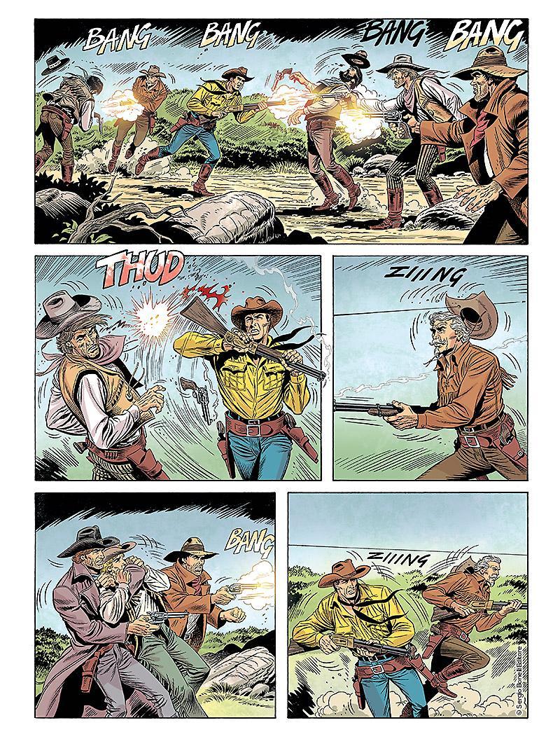 « Cowboys » par Giacomo Danubio et Pasquale Ruju.