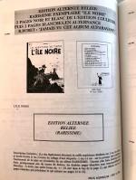 Première apparition d'une « Île noire » alternée vente Scriptura 23 juin 1993.