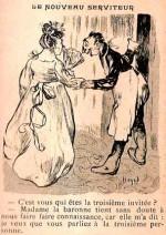 Un dessin de Lucien Haye dans Le Sans Souci.