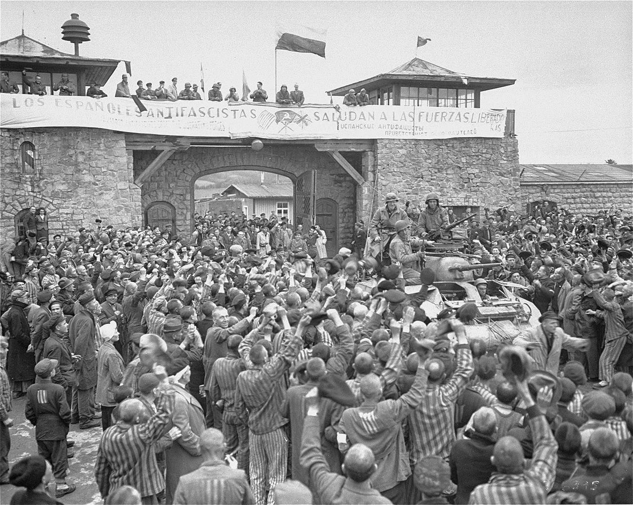 Mauthausen libéré (mai 1945)