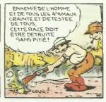 « Pat'Apouf chasse les grands fauves ».