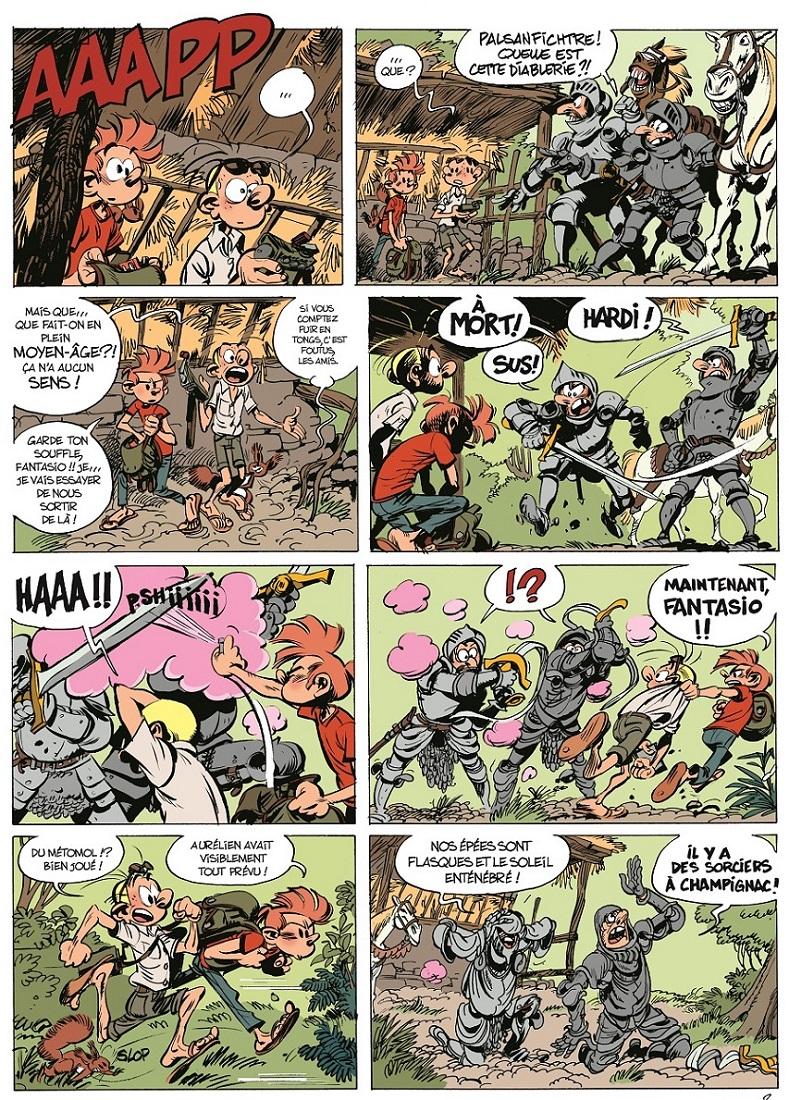 Les Folles Aventures de Spirou  page 21