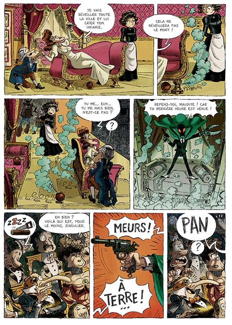 Une Aventure des Spectaculaires T2 page 15