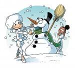 Studio Danse T10,  bonhomme de neige