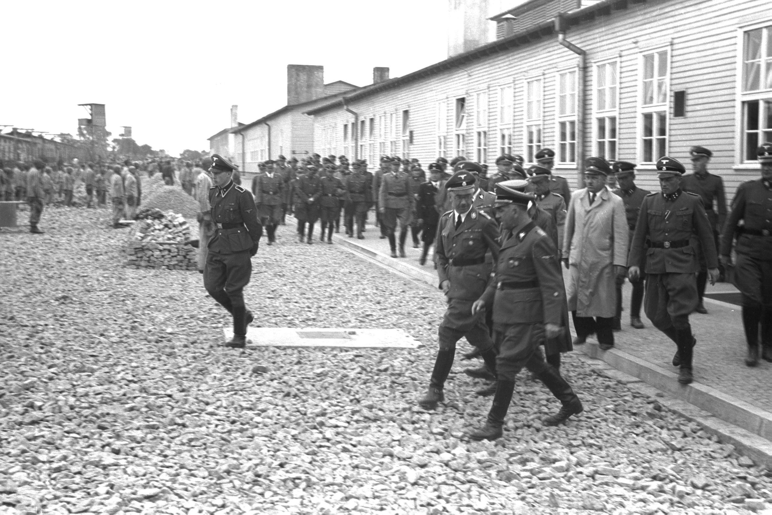 Visite d'inspection d'Himmler en 1941