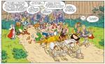 Astérix et Obélix sont dans la course (éd. Albert René 2017)
