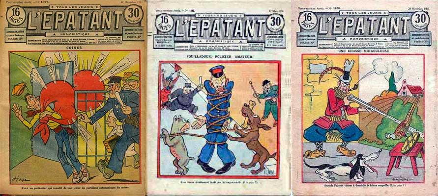 Les couvertures de cette époque sont souvent illustrées par A. G. Badert, Maurice Cuvillier, Roger Delorme, Lucien Haye, Pierre Siva, Raoul Tome...