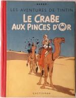 « Crabe » dos pegamoïd et second plat A21 ; l'édition alternée la plus rare avec « La Licorne » (un seul exemplaire connu).