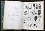 Exceptionnel exemplaire de travail de Hergé (A22).