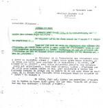 Étrange courrier du 30 novembre 1943. Lesne demande à Hergé : « Je suppose qu'il te faut aussi le Crabe ? Veux-tu confirmer ? »