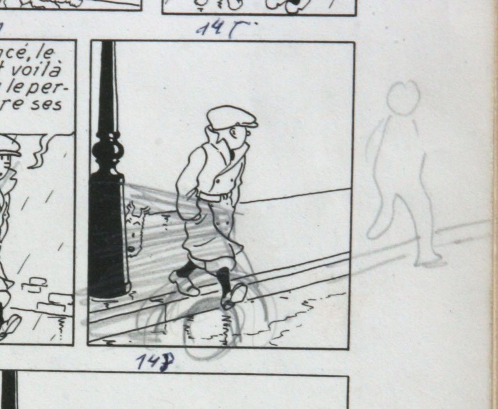Annotation pour la transformation de l'histoire en dessin animé.