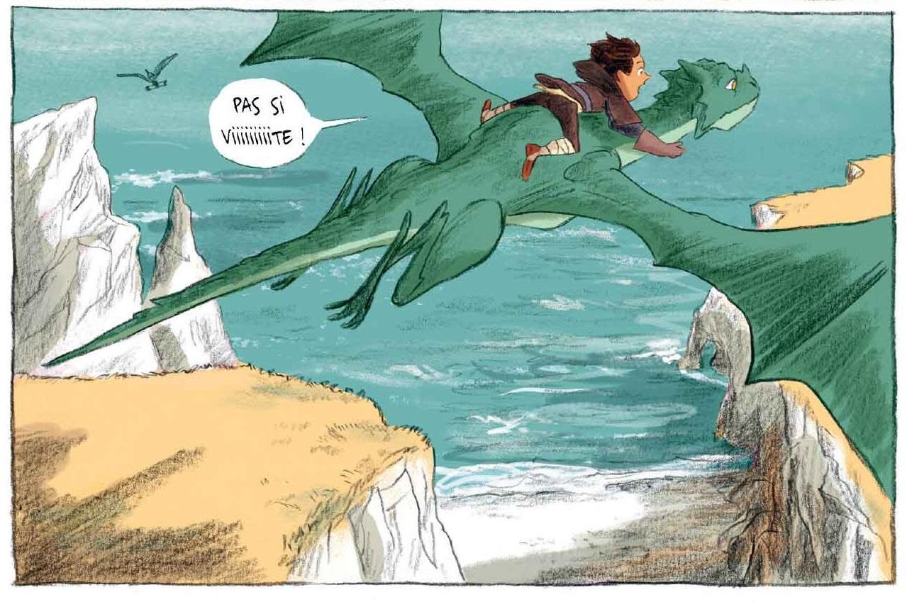Cham et son dragon