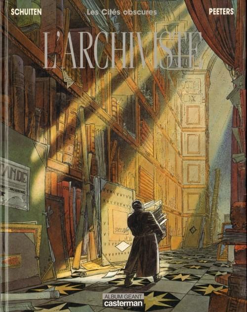 Parmi les références : Les Cités obscures HS 02 : L'Archiviste de Benoît Peeters et François Schuiten  (Casterman - 1987)