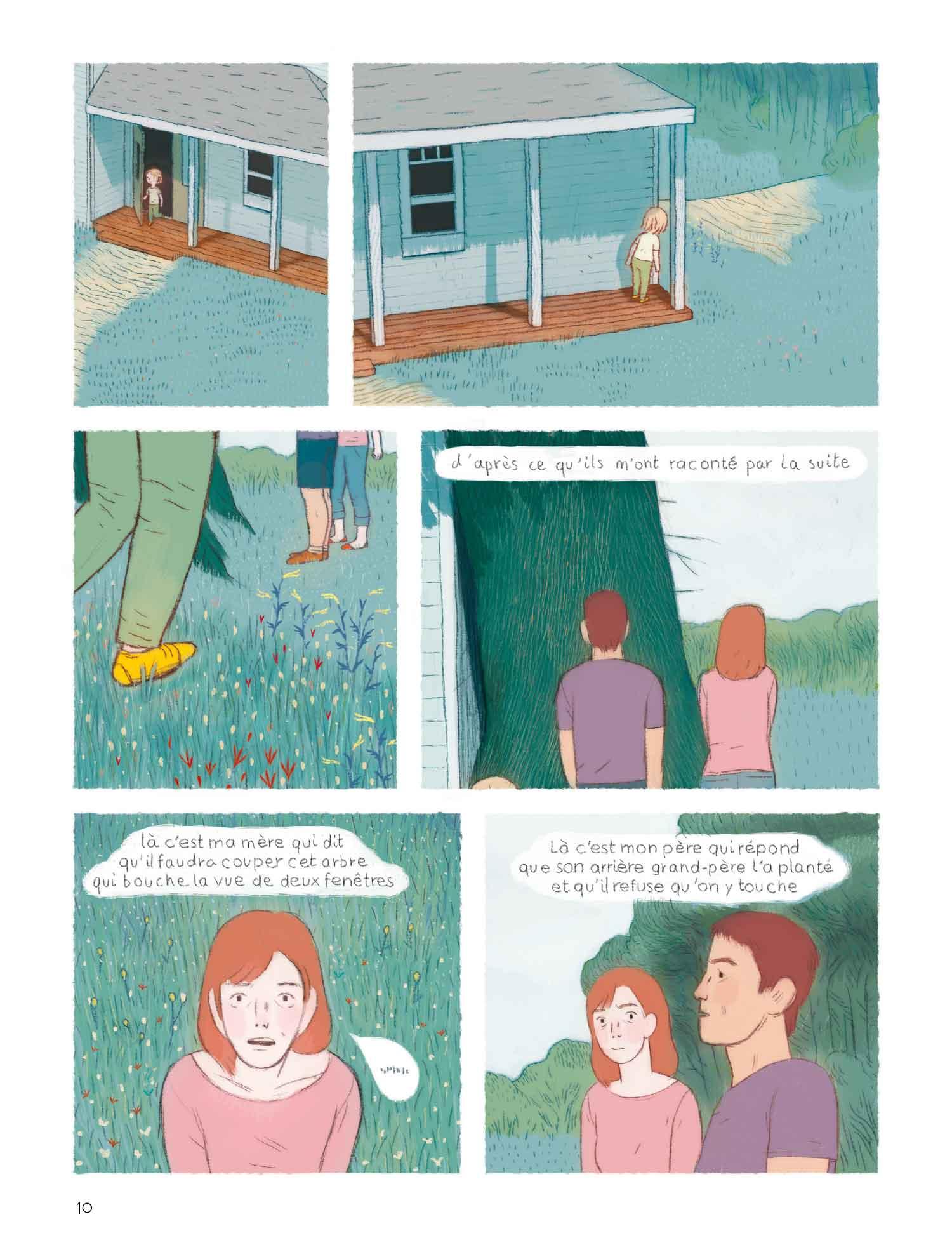 L'écorce des choses page 10