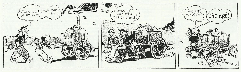 « Toto le Kostec » par Gaston Callaud.