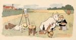 Une illustration du « Tintin-Lutin » par Benjamin Rabier et Fred Isly.