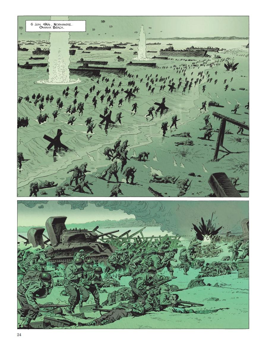 Le Débarquement et la bataille des Ardennes