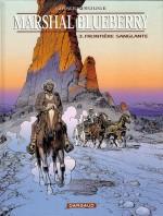 """CCouverture et première planche pour """"Frontière sanglante"""" par Michel Rouge (Dargaud, 2000)"""