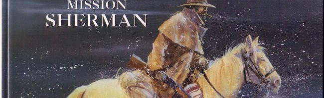 """Couverture pour """"Mission Sherman"""" (Alpen Publishers, 1993)"""