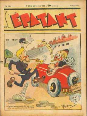 Rodaly est une autre signature fréquente dans cette nouvelle série de L'Épatant.