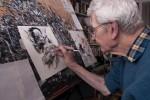 René Follet (86 ans) au travail !