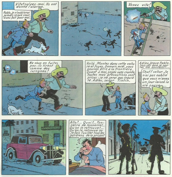 « L'Oreille cassée » page 37.