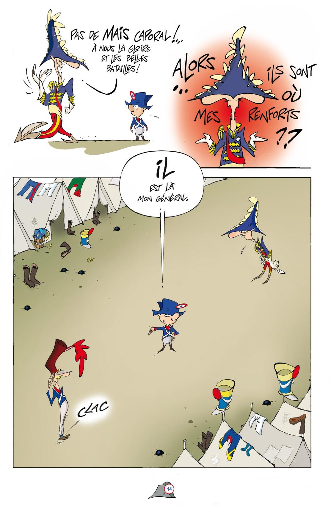 Le Blouze de l'Aigle  page 14