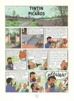 « Tintin et les Picaros » page 1.