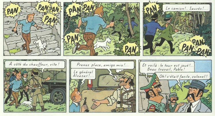 « Tintin et les Picaros » page 26.