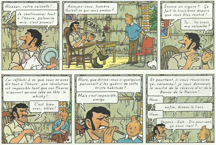 « Tintin et les Picaros » page 43.