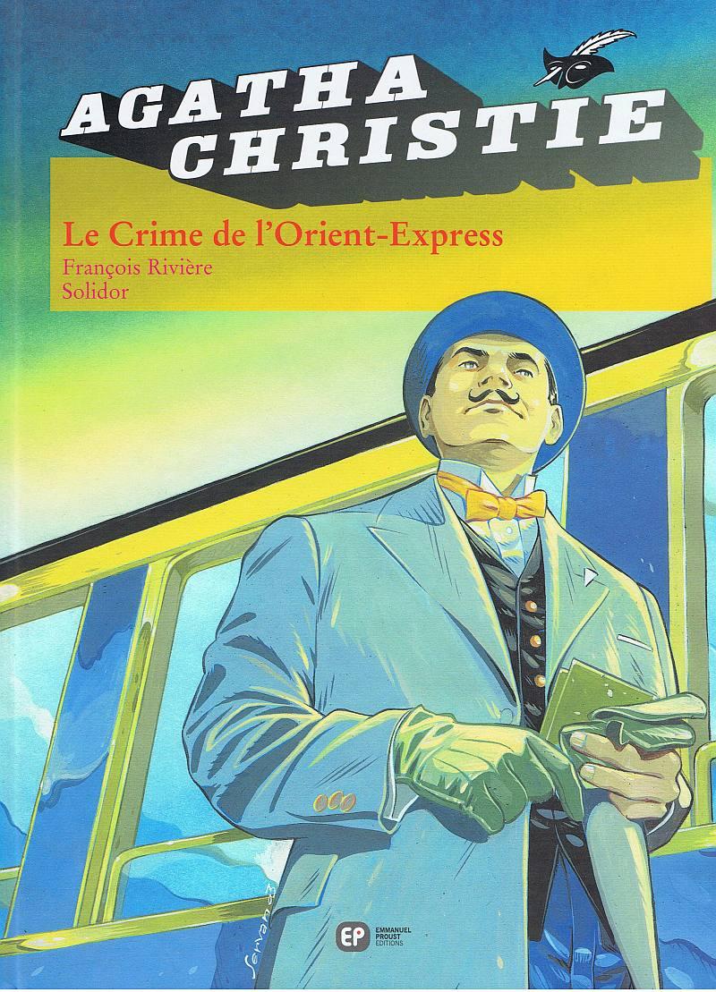 Une précédente adaptation par François Rivière (visuel éd. Claude Lefrancq - 1995)