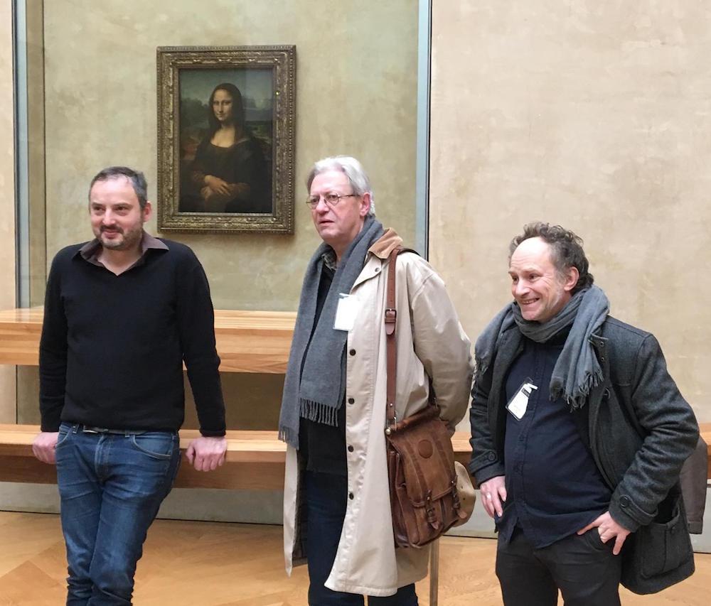 Yan Lindingre, Christian Binet et Jeff Pourquié