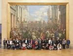 """En juin 2017, 50 """"zozos"""" de Fluide Glacial ont été lâchés au musée du Louvre"""