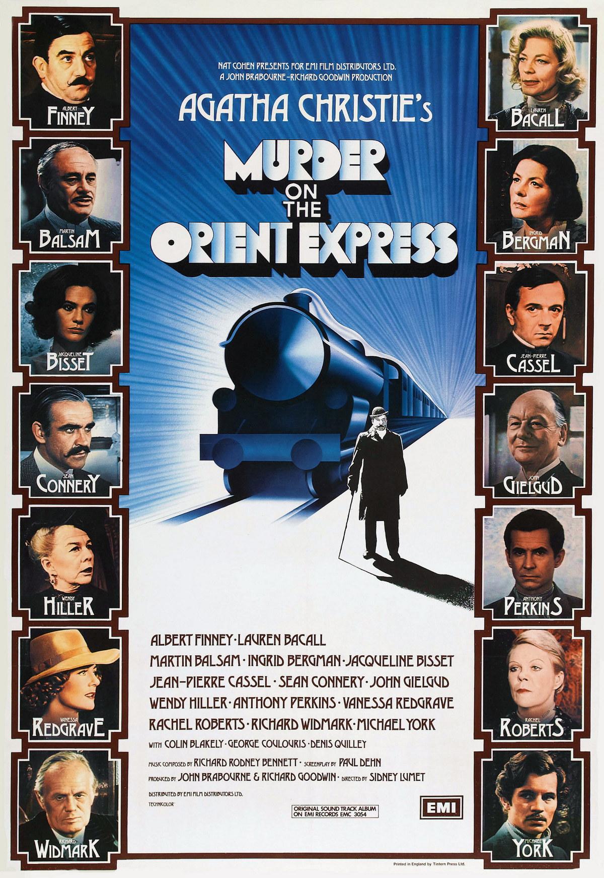 Affiche française pour le film de Sidney Lumet (1974)