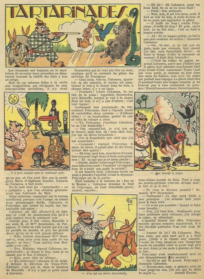 Non seulement Mat dessine trois séries dans L'Épatant, mais il publie aussi de nombreuses illustrations et couvertures.