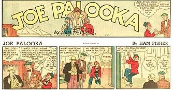 « Kid Patouillard poids lourd » alias « Joe Palooka » aux États-Unis.