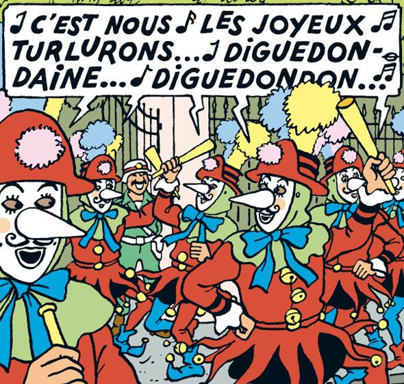 « Tintin et les Picaros » page 55.