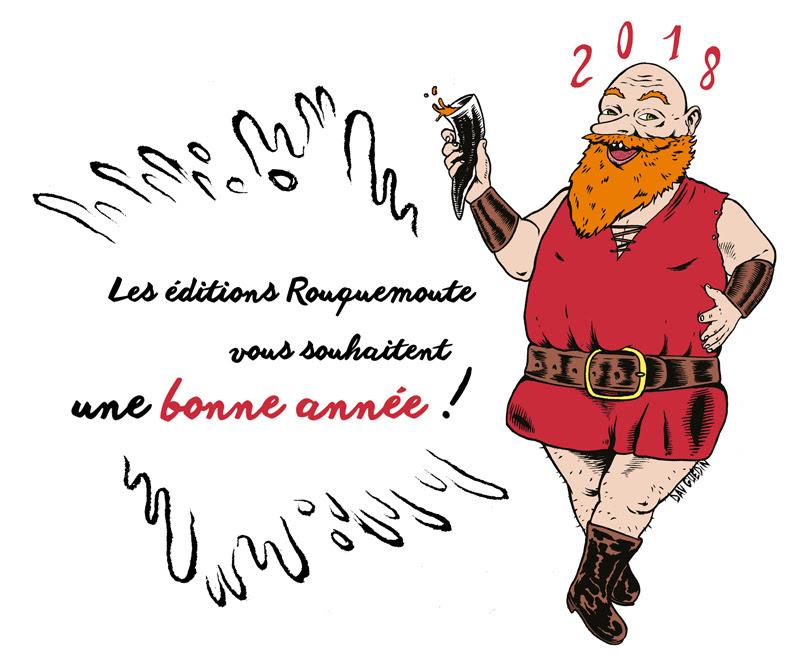voeux Dav Guedin pour Rouquemoute