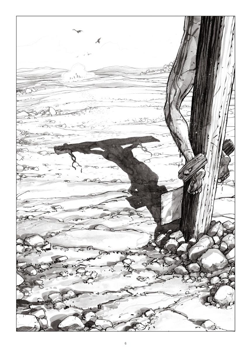 Le début du mythe (planche 4 - Futuropolis 2018)