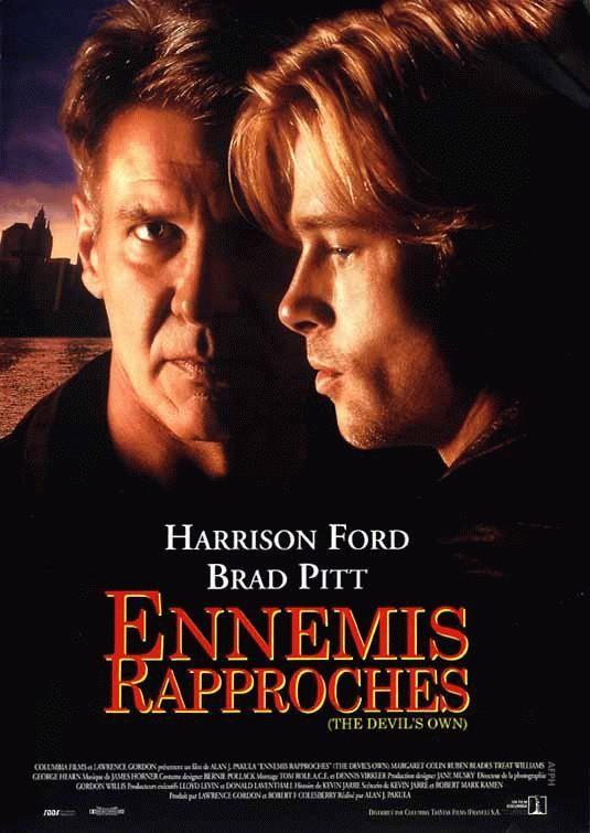 """Affiche française pour """"Ennemis rapprochés"""" (A. J. Pakula, 1997)"""