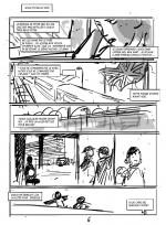 Storybard pour les planches 6 et 7